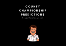 County Championship Predictions