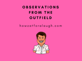 Observations from the Outfield