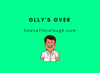 Olly's Over - Howzat for a Laugh - Funny Cricket News